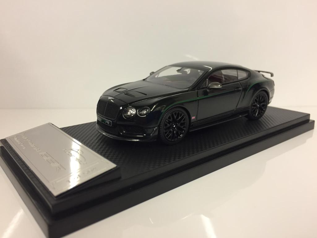 Quasi 430405 reale Bentley Continental GT3-R 2015 2015 2015 Verde Cina EDIZIONE 1:43 cdb756