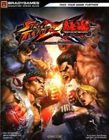 Street Fighter X Tekken Brady Games Strategy Guide - Playstation 3 - Xbox 360