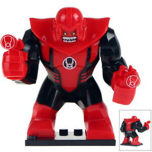 Marvel Super Heroes Atrocitus Red Lantern Green Mini Figure Avengers Fit lego