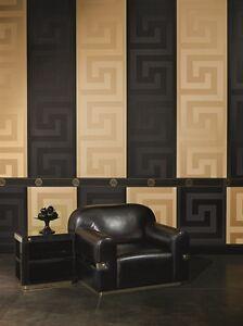 EUR-9-99-qm-Tapete-Versace-Home-93523-4-Maeander-Schwarz-Versace-Tapete-935234