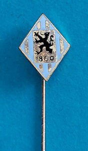 Emaillierte 1860 München - Anstecknadel      S.H. & Co. GMBH