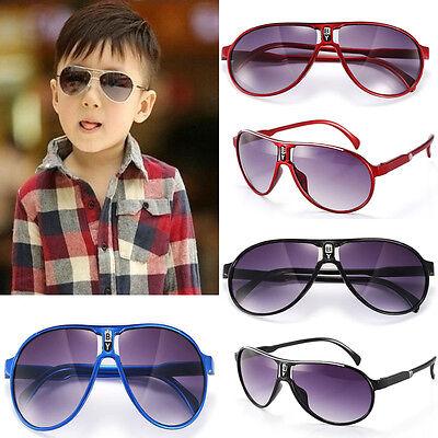 Popular kids boys girls aviator sunglasses chit cool 6 colors parim New