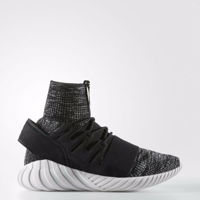 new product 08de3 bfe21 NEW MEN'S ADIDAS ORIGINALS TUBULAR DOOM PK GID SHOES [BB2392] BLACK//GRANITE