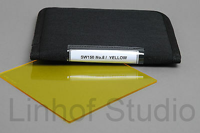 Lee Filters SW150 150x150mm No. 8 Yellow Black and White Resin Filter