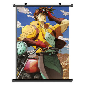 Jojo JoJo/'s Bizarre Adventure Jotaro Anime Wall Poster Scroll Home Decor Cosplay