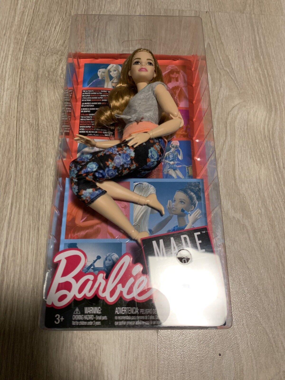 2018 Barbie Made To Move