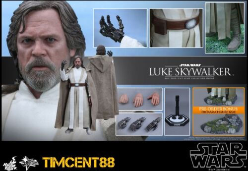 Ready Hot Toys MMS390 Star Wars EP7 The Force Awakens Luke Skywalker Mark Hamill