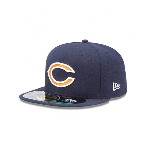 great deals 2017 catch coupon code Era NFL Chicago Bears on Field 59fifty Cap 7 for sale online | eBay