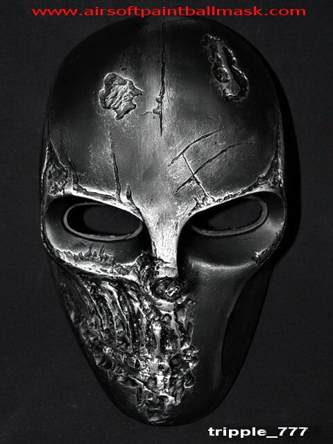 SKULL Airsoft Mask Pédalier GUN PAINTBALL Casque Visage Complet Tactical Army of Two MA300
