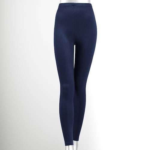 Women/'s Simply Vera Vera Wang Solid Leggings