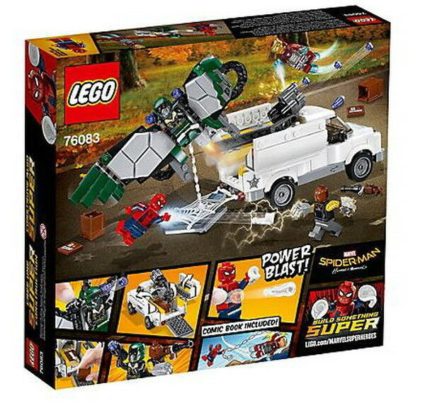LEGO 76083 Marvel Super Heroes Heroes Heroes Spider Man Beware the Vulture 375 Pieces Lego Toy 432c25
