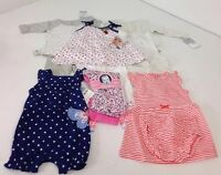 Lot Of 11 Baby Girl Clothes 6m