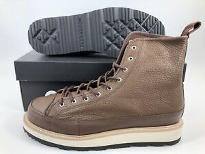 610e1145a339 Image is loading Converse-CT-Crafted-Boot-HI-Chocolate-Leather-Size-