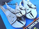 3PC LOCKING PLIERS SET LOCK JAW,MOLE GRIP,VISE GRIP STRAIGHT JAW WRENCH