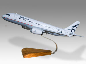 Original Airbus A320 Austrian Airlines Solid Dried Mahogany Wood Handmade Desktop Model Collectables Airlines