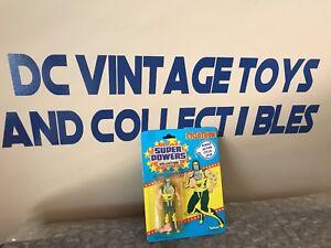 Super Powers Cyclotron 33 Série Arrière 3 Moc Vintage Kenner