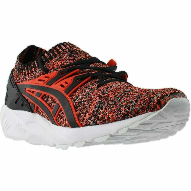 ASICS GEL Kayano Trainer Knit Casual Training Stability Shoes Black Mens Size
