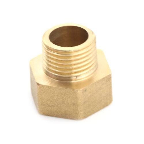 """Metall Messing metrisch BSP G3//4/""""Buchse auf NPT 1//2/""""männlich Rohrfitting Adapter"""