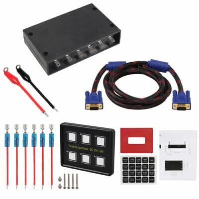 6-Gang LED Schaltpanel Touchscreen 12V-24V Schalter Schalttafel für Wohnwagen