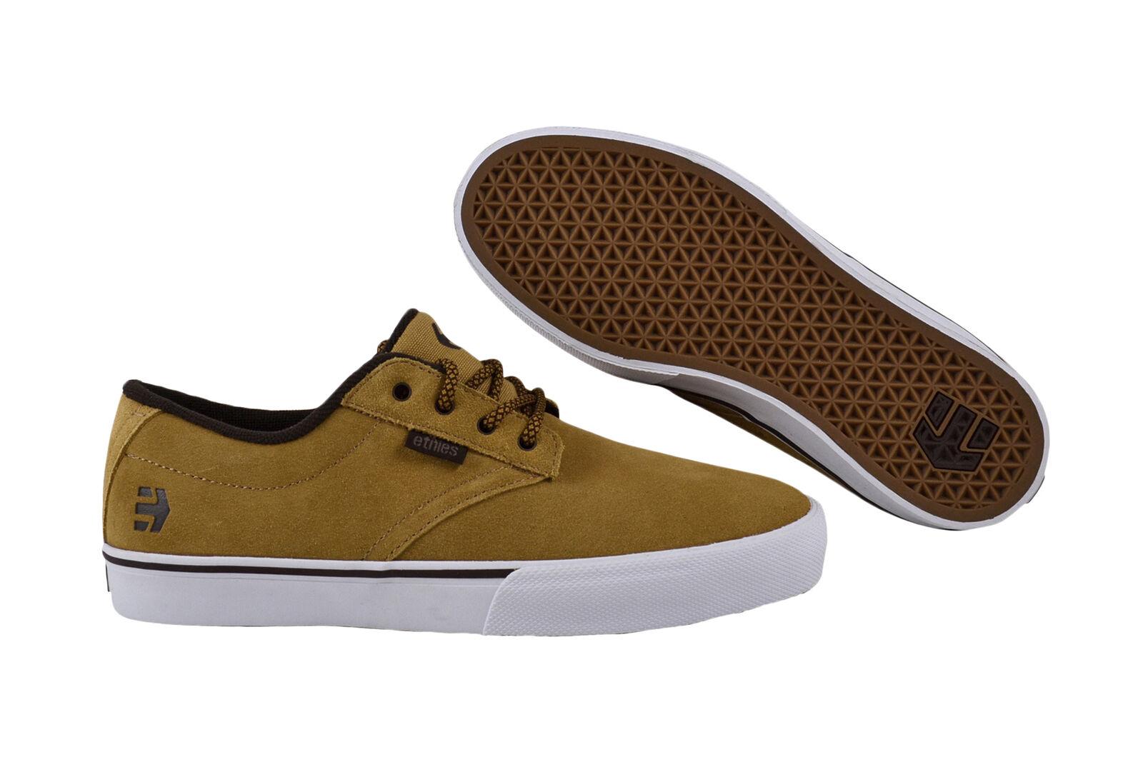 Etnies Jameson vulc tan/Brown/White skater Sneaker/zapatos beige