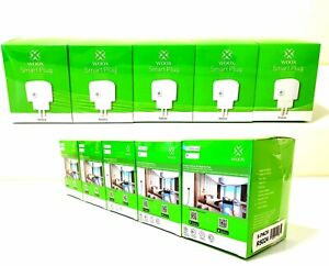 5x-Smart-PLUG-APP-sprachgesteuerte-Steckdose-2-4GHz-Alexa-Google-WOOX-Tuya