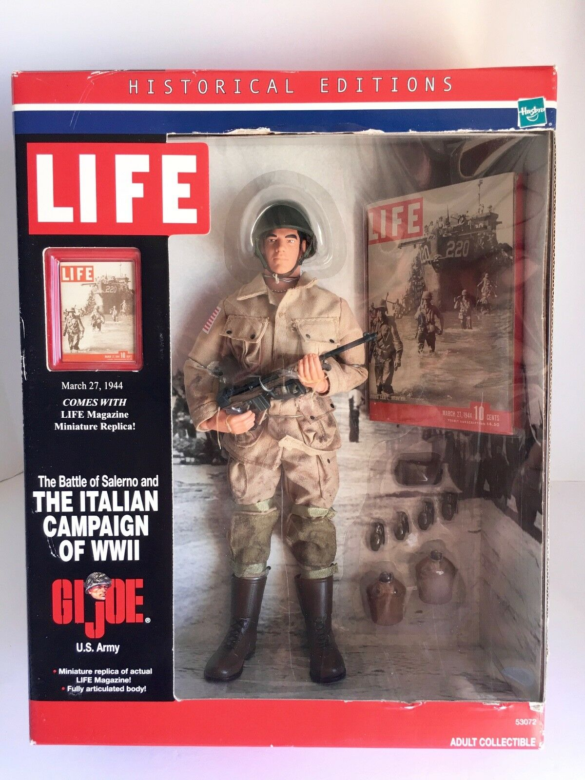 Description  G. I. Joe THE ITALIAN CAMPAIGN OF WWII U.S. Army GJ-2