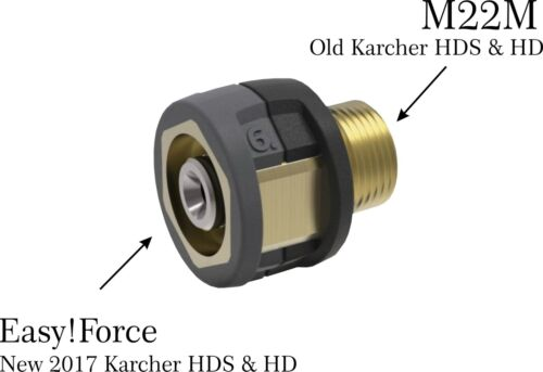 Nuevo Adaptador De Force 2017 Karcher Karcher fácil 6 X 1.5 M22-Cerradura fácil!