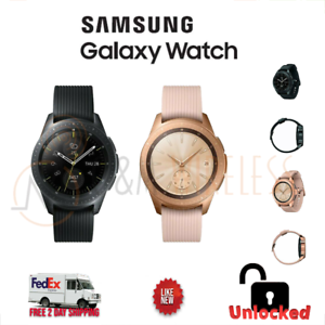 Open Box Samsung Galaxy Watch SM-R815U 42MM (Bluetooth/WIF