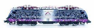 Voie N - Hobbytrain Locomotive Électrique Br189 Txlogistics Chevaux Avec Son