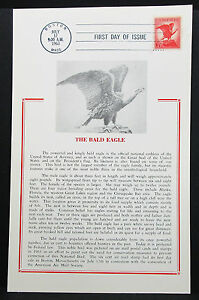 First-Day-of-Issue-FDC-the-Bald-Eagle-Boston-Patriotic-USA-Ersttagspost-H-7356