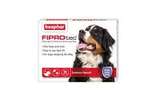 Beaphar fiprotec SPOT ON PER Extra Large Cani, 3 x TRATTAMENTO CONTRO PULCI ZECCHE