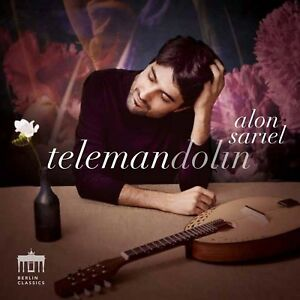 Telemandolin-Sariel, Alon CD NUOVO Telemann, Georg Philipp