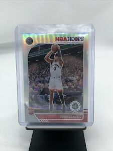 Terence Davis Silver Holo Prizm RC SP NBA Hoops Premium Stock 257 RC READ