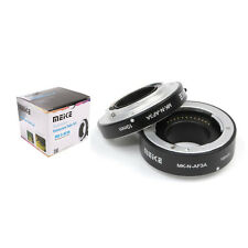 Meike Metal AF Macro Extension Tube Auto Focus Adapter ring 10mm 16mm for Sony