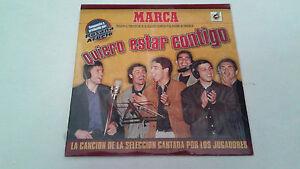 """SELECCION ESPAÑOLA FUTBOL """"QUIERO ESTAR CONTIGO"""" CD SINGLE 3 TRACKS PRECINTADO"""