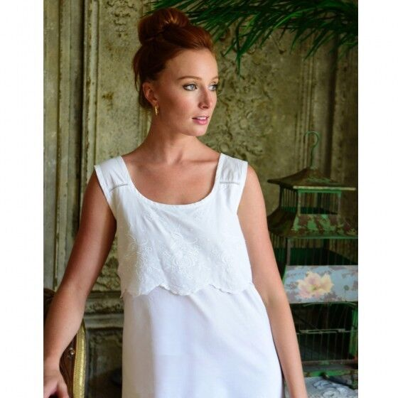 Powell Craft Sophie Womens Pure Cotton Nightdress Approx UK Size 14 for  sale online  a2b452f473