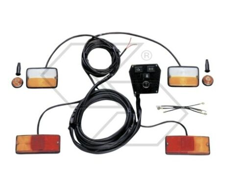 Kit Universelle Lichter und Pfeile Newgardenstore für Einachsschlepper mit Avv.