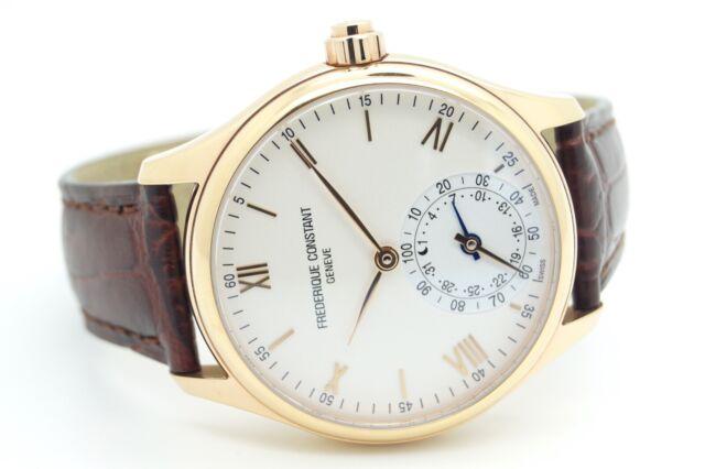 Frederique Constant FC-285X5B4/6 MotionX relojeras para hombre Reloj inteligente