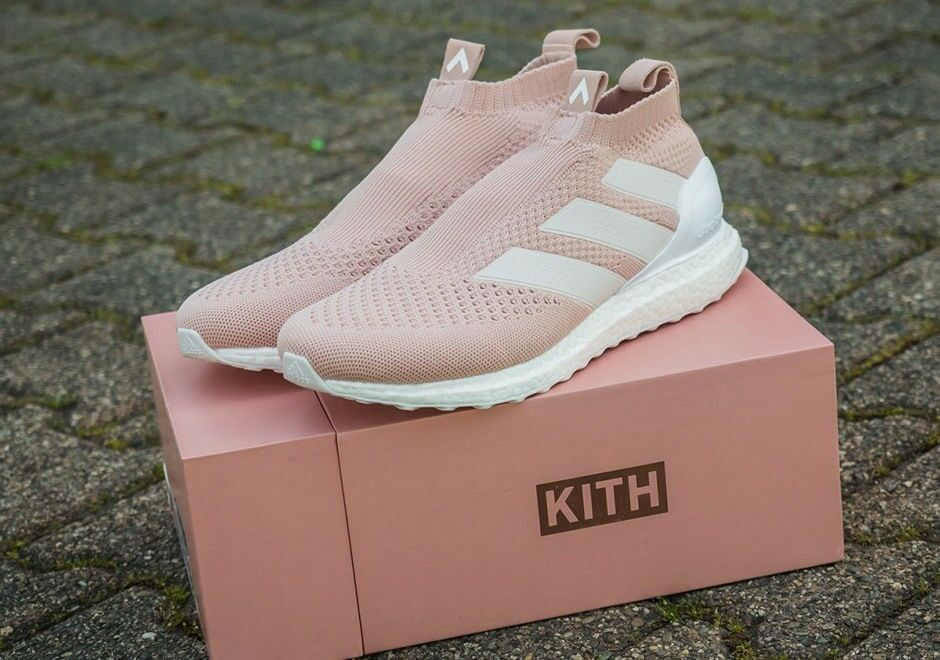 Kith x Adidas Soccer ACE 16+ Purecontrol UltraBOOST Flamingos Cobra Size 10