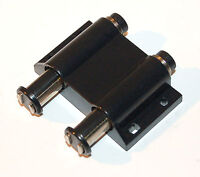 Black Double Barrel Touch Replacement Magnetic Cabinet Cupboard Door Catch Latch