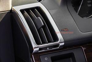 matt chrome dashboard ac air vent trim cover land rover. Black Bedroom Furniture Sets. Home Design Ideas