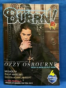 BURRN-April-2020-Hard-Rock-Heavy-Metal-Magazine-Japan-Ozzy-Osbourne-Megadeath