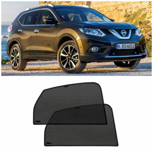 Rear Door Car Window Sun Shade Shield Blind Mesh For Nissan X-Trail T32 2014-18