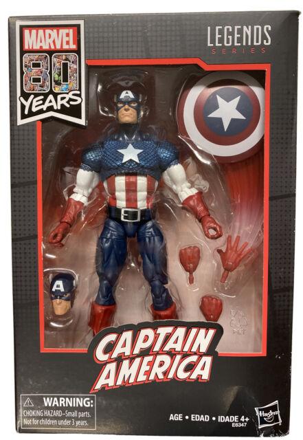 "Motorcycle 6/"" Figure Vintage DAMAGED Marvel Legends 80th WWII Captain America"