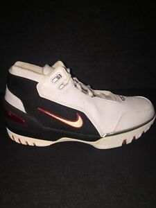 Details about Nike Air LeBron OG Zoom Generation White Size 8 OG Box New Big Apple Superman