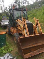 Case 580 SuperM Backhoe Loader 4WD Four Wheel Drive