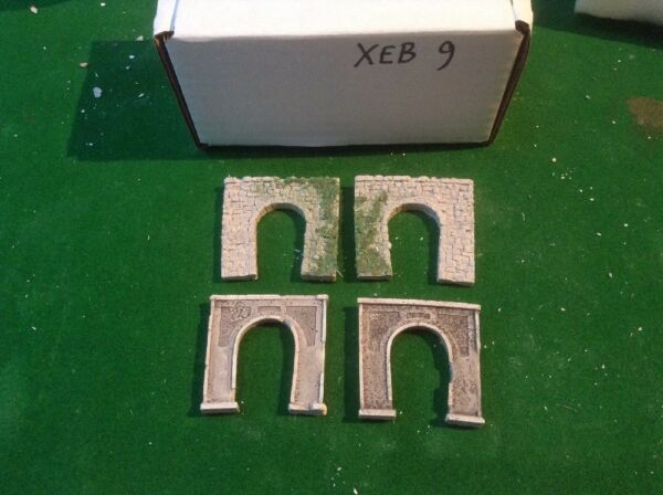 4 X Single Tunnel - Z Scale ..painted Twin Pack Value