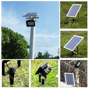 15w 120led solar power light panel daynight sensor outdoor garden image is loading 15w 120led solar power light panel day night aloadofball Gallery