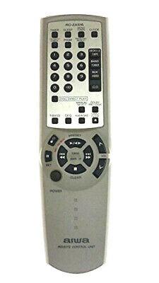 Aiwa RC-ZAS15 Mini System Remote Control CX-HMA56 NHMA56 NHMA56U NSX-AV540