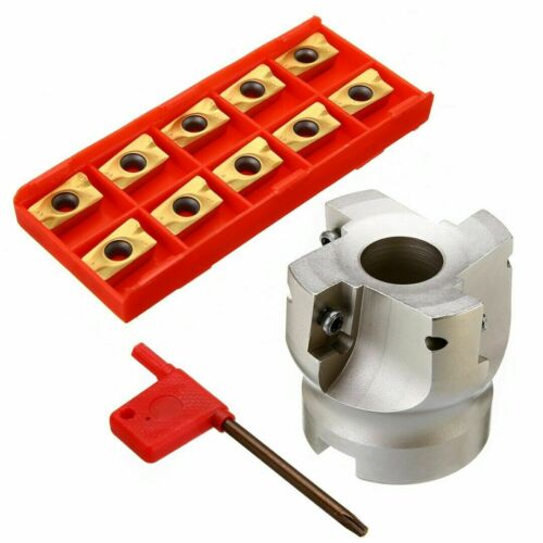 10pcs APMT1604 miiling Inserts BAP400R-50-22 4 Flute Face End Milling Cutter